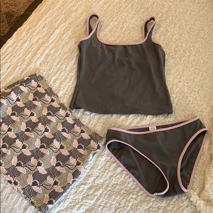 Calvin Klein swimsuit/skirt